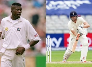 Why Curtly Ambrose 'wouldn't relish' bowling to Dom Sibley