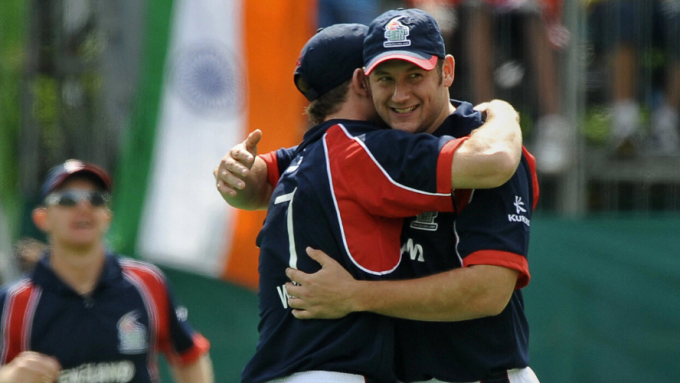 Bresnan: Jonathan Trott and I got spiked during the Hong Kong Sixes