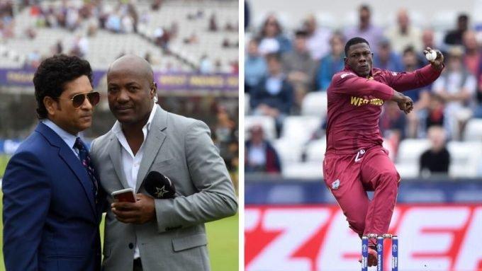 Sheldon Cottrell corrects Lara & Tendulkar over West Indies absence