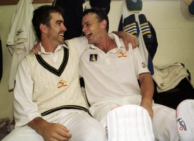 When Langer grabbed Gilchrist 'by the neck' during the 2001 Ashes