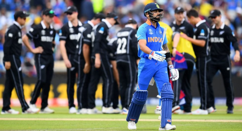 Kohli, India v New Zealand, 2019 WC