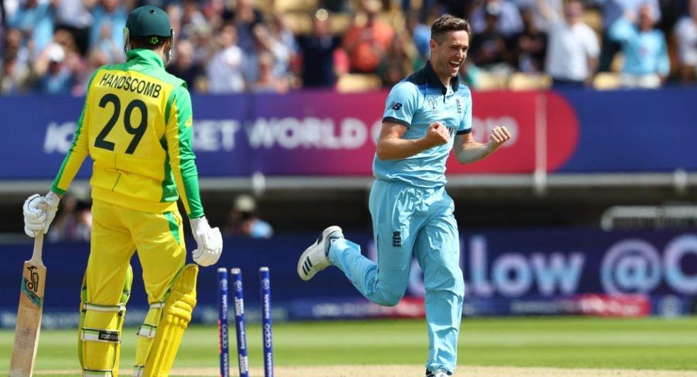 Woakes, England v Australia, 2019 WC SF