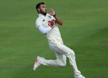 Who is England fast bowler Saqib Mahmood?