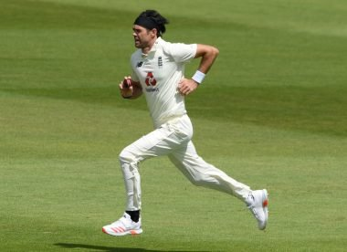 James Anderson accused of using saliva to shine the ball