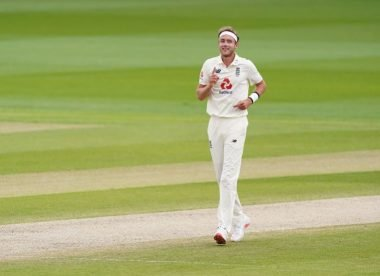 Is this the best Stuart Broad has ever played for England?