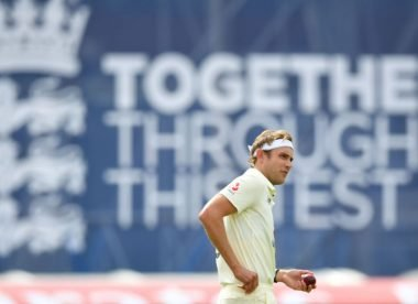 Broad 'a bit nervous' about potential code of conduct breach after Roston Chase celebrappeal