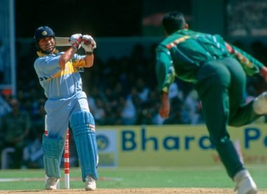 One match, two legendary debutants: Waqar Younis' first impressions of Sachin Tendulkar
