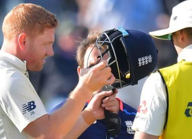 When Jonny Bairstow demolished an 'unbreakable' helmet with his forehead