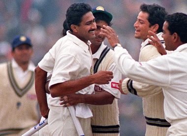 'He had to unlearn all his skills' – The pressure on Srinath during Kumble's ten-for