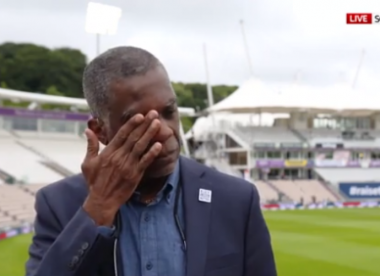 Michael Holding holds back tears on-air while discussing racism that his parents faced