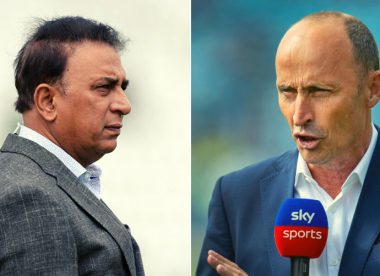Sunil Gavaskar slams Nasser Hussain for calling pre-Ganguly India 'not tough'