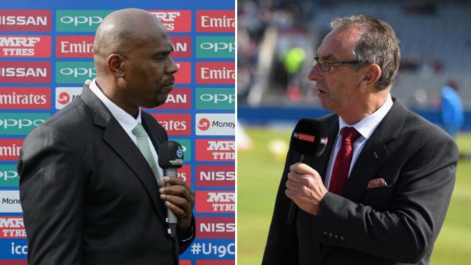 David Lloyd gets mistaken for Ian Bishop during Manchester Test