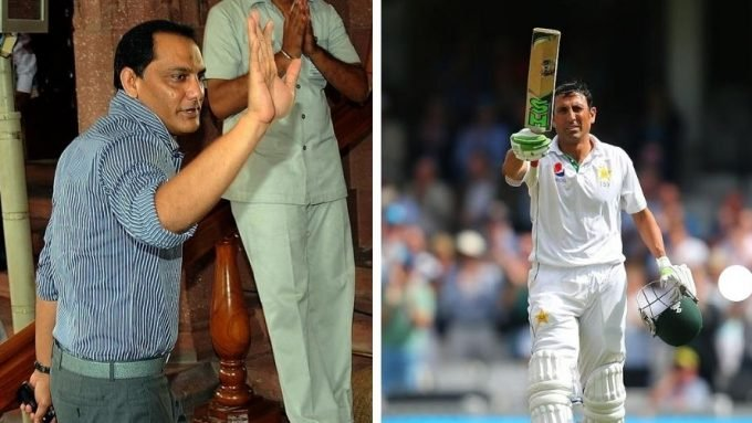 The Azharuddin suggestion that helped Younis slam 218 at The Oval