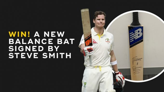 WIN! A Steve Smith souvenir bat