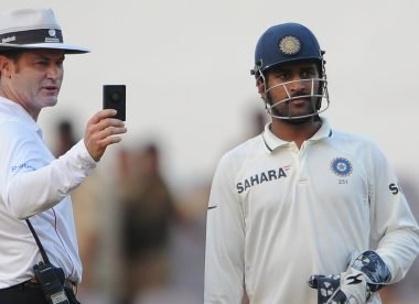 The Dhoni reaction to a suspension threat that 'blew' umpire Taufel away