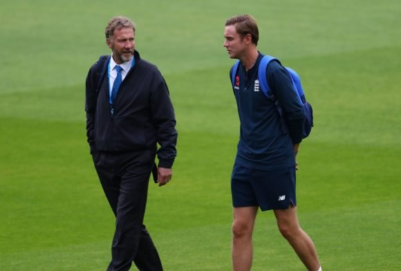 Stuart Broad in danger of ban after being hit with fine by his dad