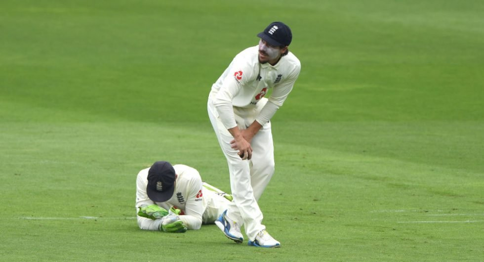 England catches