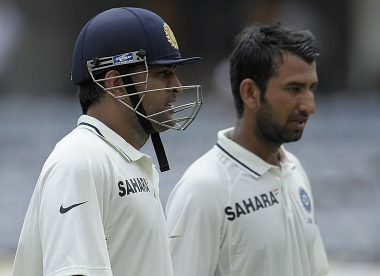 Pujara explains why Dhoni promoted him to number three over Dravid on debut