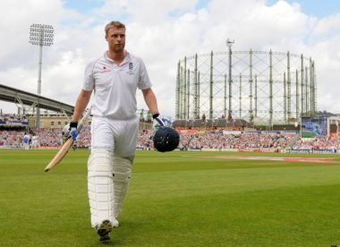 Quiz! Name the England XIs in Andrew Flintoff's first & last Tests