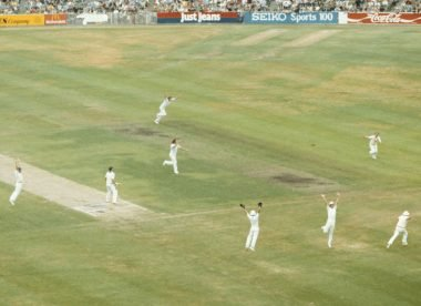 'Quick as a flash' – the Geoff Miller catch that clinched an Ashes classic