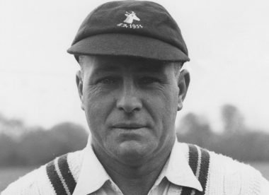 Dudley Nourse: The younger member of perhaps cricket's greatest father-son duo – Almanack