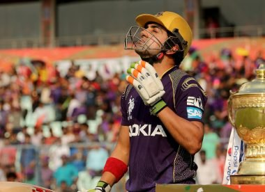 'There was a dog-fight' – How KKR signed Gautam Gambhir
