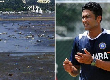 How Anil Kumble survived the 2004 Indian Ocean tsunami