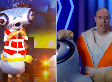 Watch: Michael Bevan's incredible performance on The Masked Singer