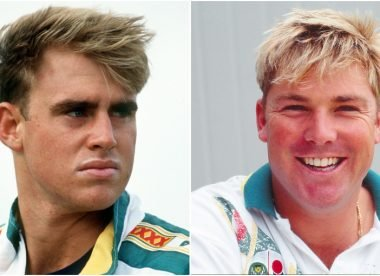 The story of Matthew Hayden's first sighting of 'The King' Shane Warne