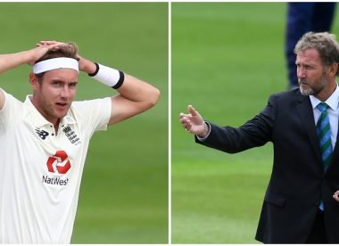 'He's off the Christmas card list' – Broad responds after copping ICC fine from his dad