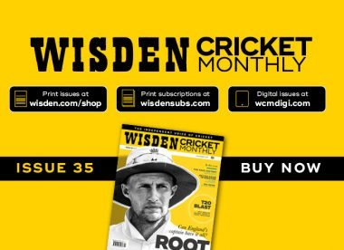 Wisden Cricket Monthly issue 35: Joe Root & the quest for greatness