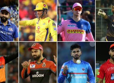 Dhoni v Rohit, Kohli v Warner – How the IPL 2020 captains match up