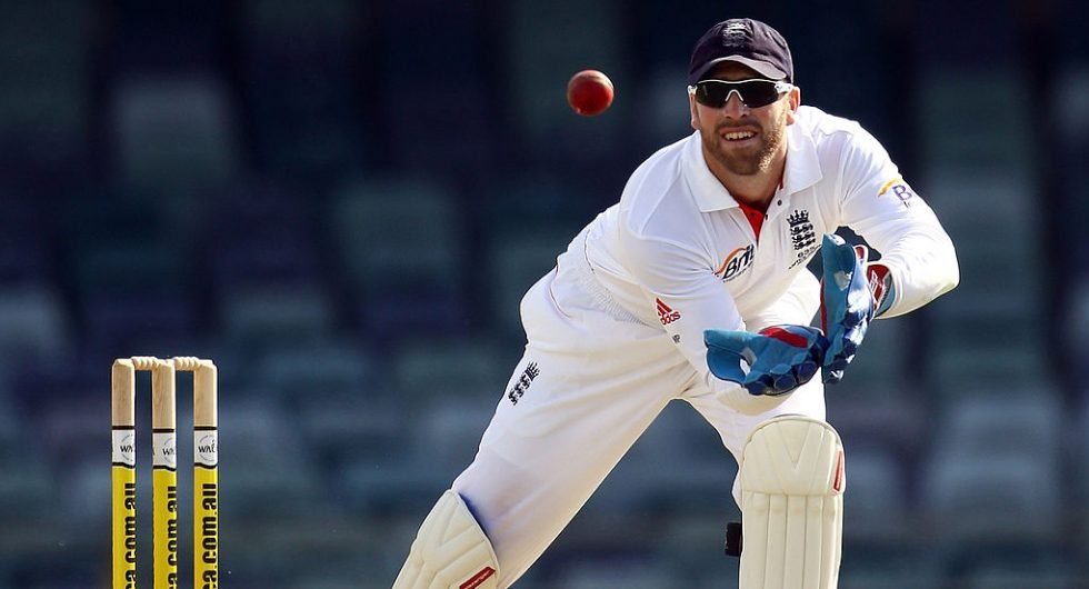 Matt Prior wicketkeeping