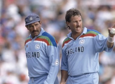 Botham, Gooch 'stormed out' of a dinner the night before the 1992 World Cup final