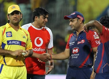 'It was Virender Sehwag' – Badrinath reveals MS Dhoni wasn't CSK's first-choice captain