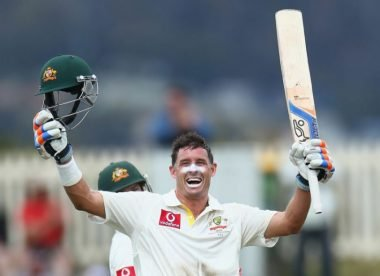 Quiz! Name the Australia XIs in Mike Hussey's first & last Tests