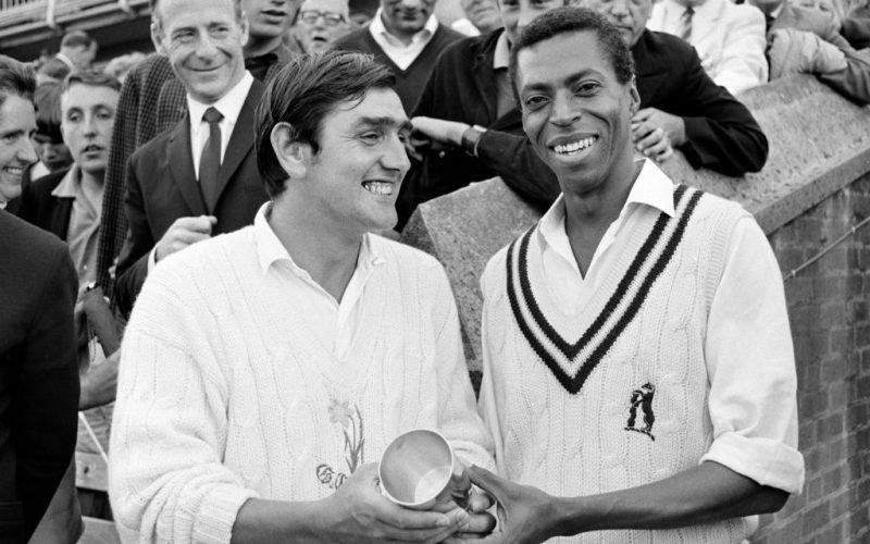 Lance Gibbs and Tony Lewis