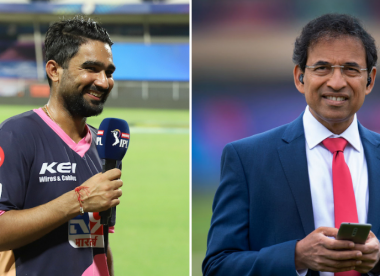 'Bewildered' Harsha Bhogle responds to criticism of his Rahul Tewatia tweet