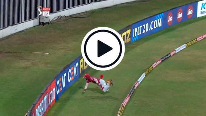 Watch: Nicholas Pooran's 'unbelievable' boundary save