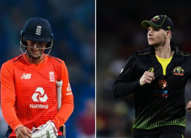 """SteveSmith surprised by Joe Root's T20I omission in England's """"all-out power"""" squad"""