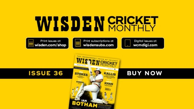 Wisden Cricket Monthly issue 36: The special ones