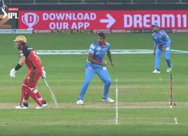 'Final warning of 2020' – Ashwin cautions batsmen after sparing Finch the Mankad