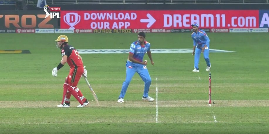 IPL 2020: Ravichandran Ashwin Opts Against Mankad Dismissal