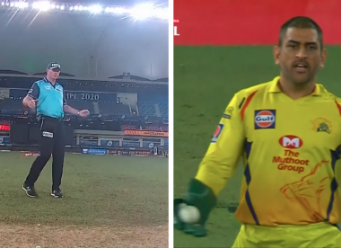 Dhoni, umpire in focus after uncalled wide sparks uproar