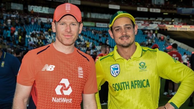 South Africa v England 2020: Fixtures for England's white-ball tour of South Africa announced