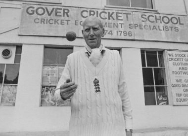 Alf Gover: The Mr Chips of cricket teachers – Almanack