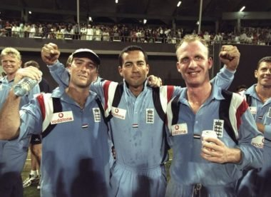 England's have-a-go heroes of Sharjah '97