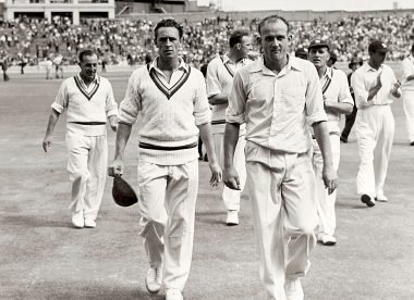 How a blow to the head to 'Typhoon' Tyson changed the 1954/55 Australia summer