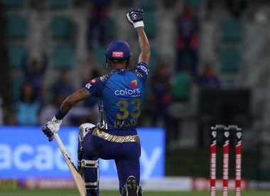 Hardik Pandya takes knee after IPL half-century in support for Black Lives Matter