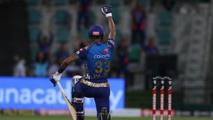Hardik Pandya takes knee after IPL half-century in support for Black Lives Matter